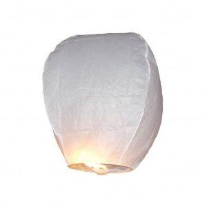 witte wensballon 75 cm